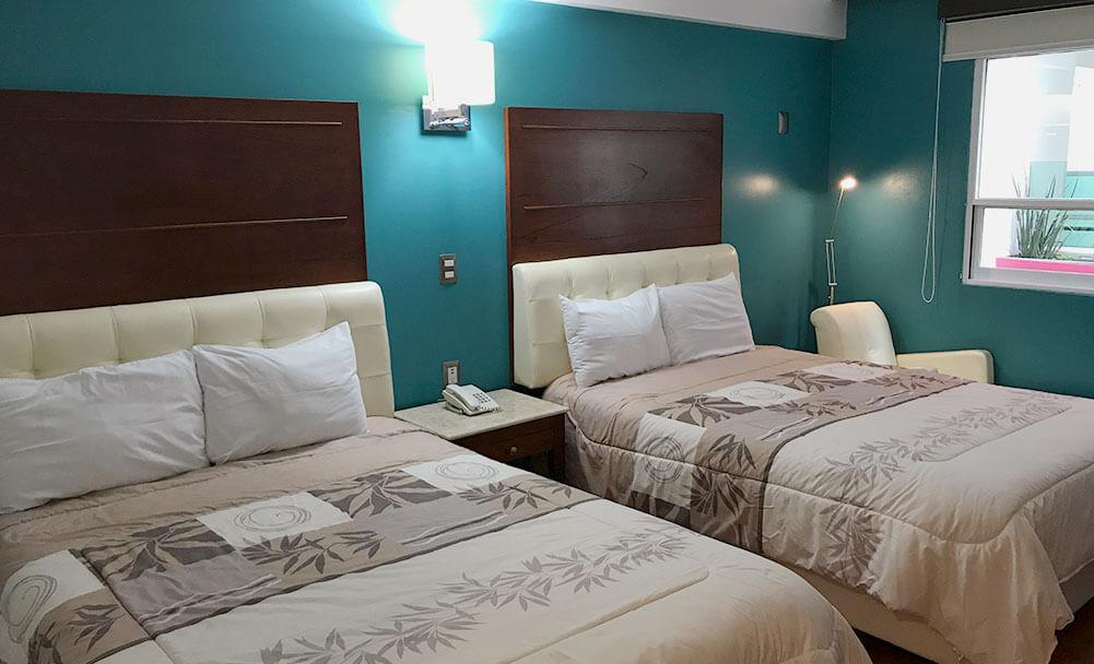 Habitación doble - Hotel Malinalli Huamantla