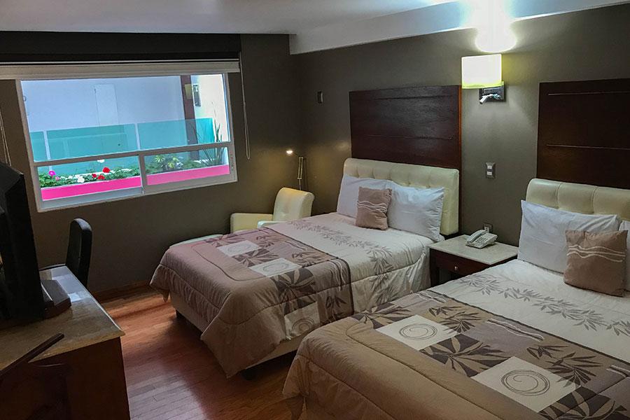 Habitación doble ejecutiva - Hotel Malinalli - Huamantla